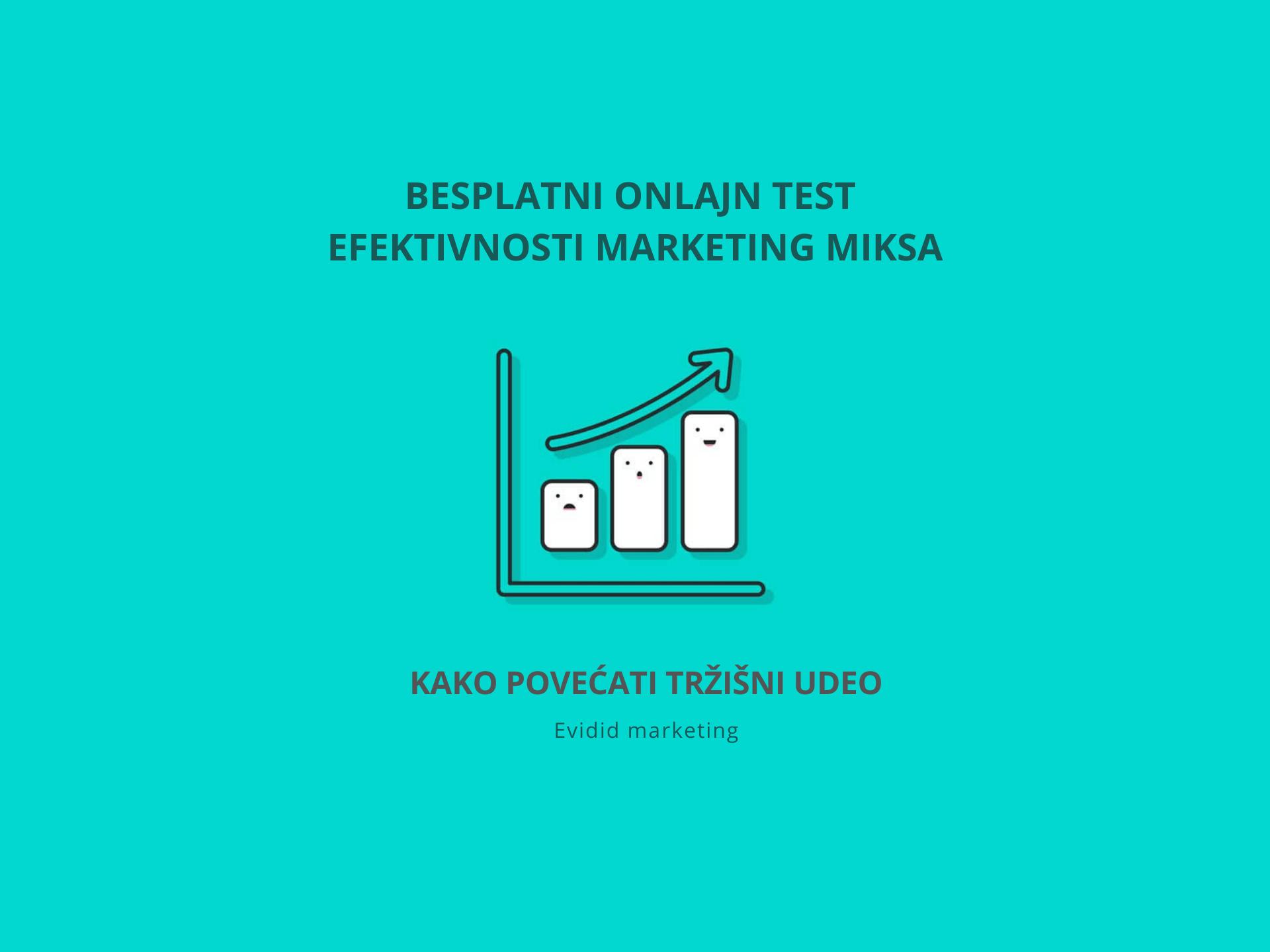 Marketing mix i tržišni udeo – test